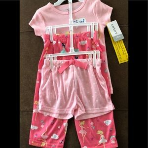 NWT!! Adorable Carter's pajama set!! 18 mo.